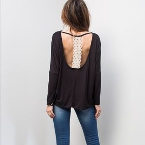 April Spirit Tops - April Spirit | Open back Top | L/XL